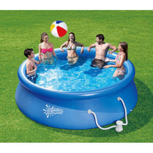 8 summer escapes inflatable pool