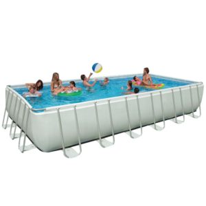 Intex 12 by 24 ft by 52 inch rectangular pool