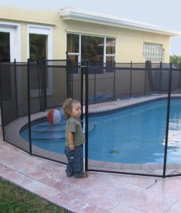 pool fence for kids